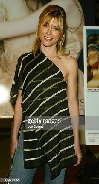 Julie Bown at the premire of the film XX/XY during Premiere of XX/XY at Laemmle Sunset 5 Theater in Hollywood California United States