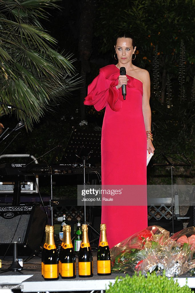 Julie Brangstrup attends Cash & Rocket On Tour Women for Women - Gala Dinner and Auctionon June 16, 2013 in Rome, Italy.