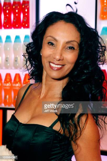 Julie Brown attends Diana Jenkins presents Room 23 featuring photography by Deborah Anderson sponsored by Jenkins' Neuro Brands at the Peninsula...