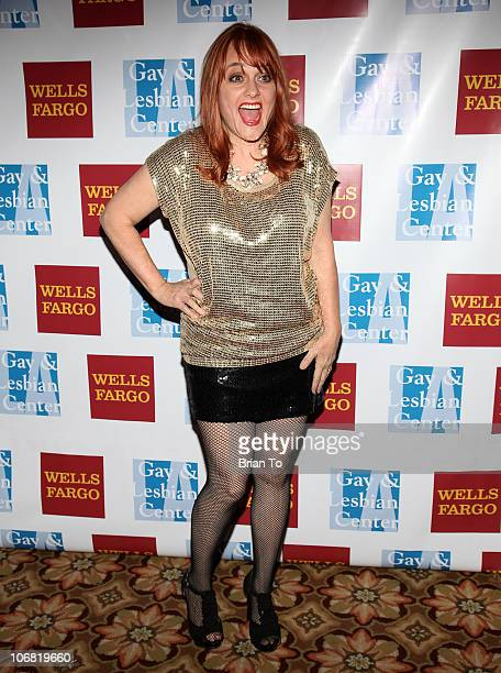 Julie Brown attends LA Gay Lesbian Center's 39th anniversary gala auction at the Hyatt Regency Century Plaza on November 13 2010 in Century City...