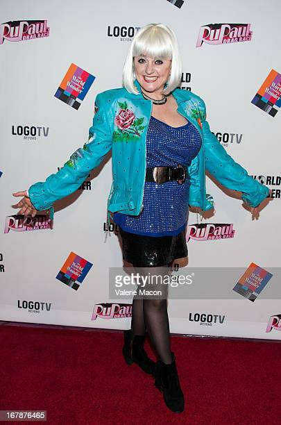 """Julie Brown attends the Finale, Reunion & Coronation Taping Of Logo TV's """"RuPaul's Drag Race"""" Season 5 on May 1, 2013 in North Hollywood, California."""