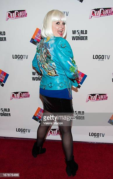 Julie Brown attends the Finale Reunion Coronation Taping Of Logo TV's RuPaul's Drag Race Season 5 on May 1 2013 in North Hollywood California