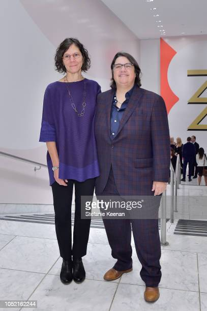 Julie Burleigh and Cathy Opie attend the Hammer Museum 16th Annual Gala in the Garden with generous support from South Coast Plaza at the Hammer...