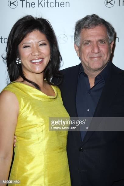 Julie Chen and Les Moonves attend THE KITCHEN Spring Gala Benefit Honoring DAVID BYRNE at Capitale on May 26 2010 in New York City