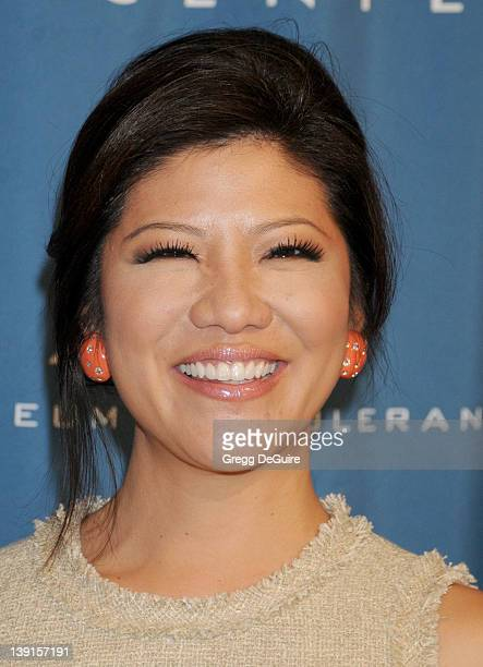 Julie Chen arrives at the 2011 Simon Wiesenthal Center's National Tribute Dinner Honoring Tom Cruise at the Beverly Wilshire Hotel on May 5 2011 in...