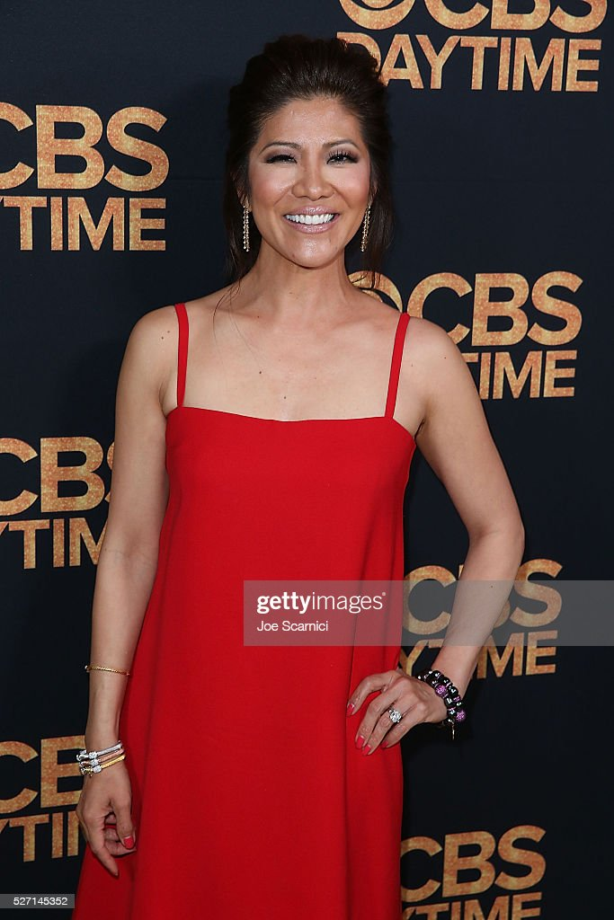 Julie Chen arrives at the CBS Daytime Emmy After Party at Alexandria Ballrooms on May 1, 2016 in Los Angeles, California.