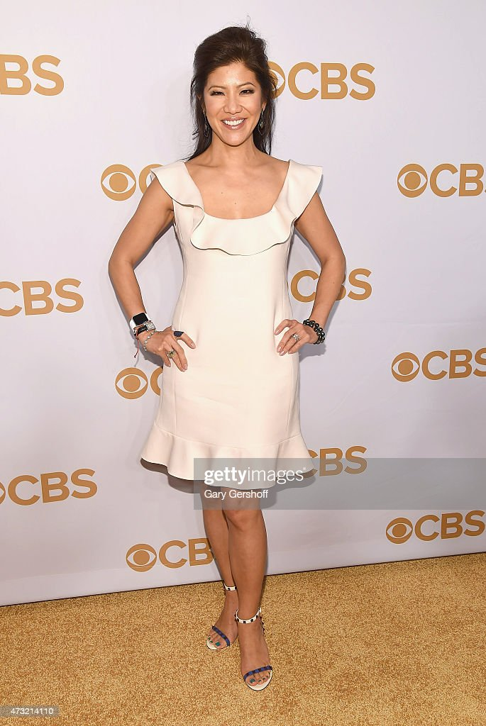 Julie Chen attends the 2015 CBS Upfront at The Tent at Lincoln Center on May 13, 2015 in New York City.