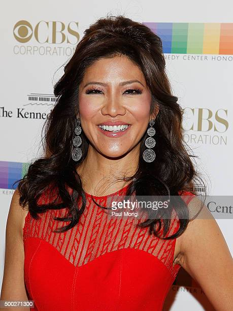 Julie Chen attends the 38th Annual Kennedy Center Honors Gala at John F Kennedy Center for the Performing Arts on December 6 2015 in Washington DC