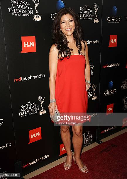 Julie Chen attends the 40th annual Daytime Emmy Awards at The Beverly Hilton Hotel on June 16 2013 in Beverly Hills California