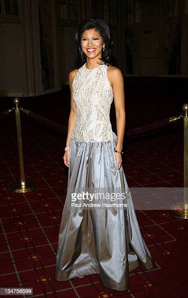 Julie Chen during International Radio and Television Society Foundation 2004 Gold Medal Dinner at Waldorf Astoria in New York City New York United...