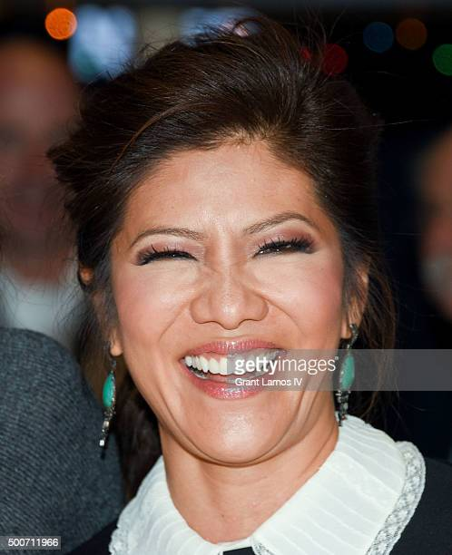 Julie Chen of CBS' 'The Talk' rings the closing bell at the New York Stock Exchange on December 9 2015 in New York City