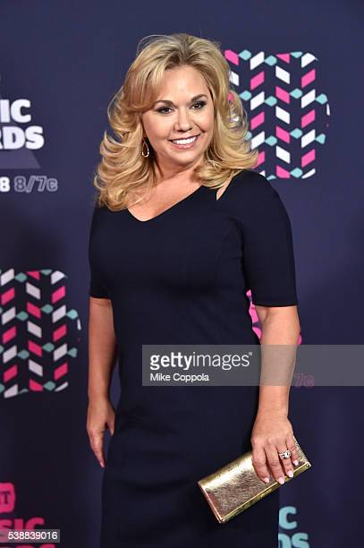 Julie Chrisley attends the 2016 CMT Music awards at the Bridgestone Arena on June 8 2016 in Nashville Tennessee