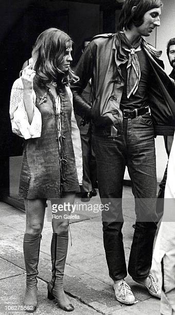 Julie Christie and Guest during Julie Christie Sighting September 1 1969 at Club Dell'Aretusa in London England Great Britain