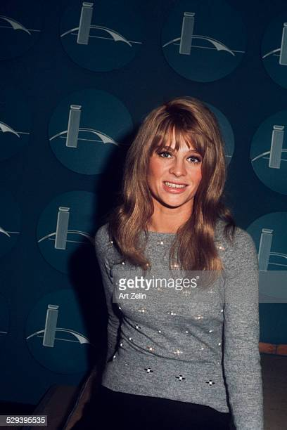 Julie Christie at JFK Airport circa 1970 New York