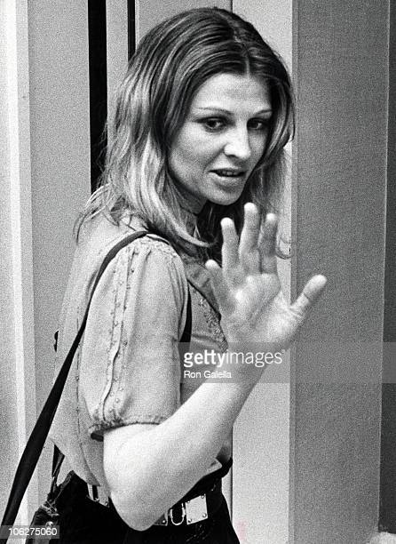 Julie Christie during Preview of Uncle Vanya May 26 1973 at Circle in the Square Theater in New York City New York United States