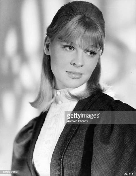 Julie Christie in publicity portrait for the film 'Doctor Zhivago' 1965