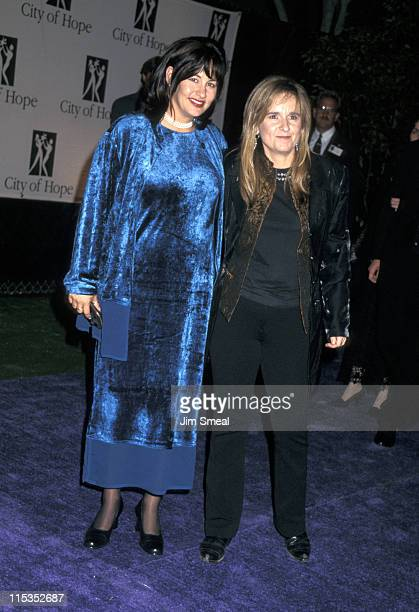Julie Cypher and Melissa Etheridge during 1996 Spirit of Life Awards at Universal City Walk in Universal City California United States