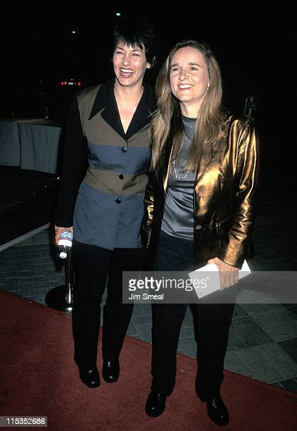 Julie Cypher and Melissa Etheridge during In Out Hollywood Premiere at Paramount Theatre in Hollywood California United States