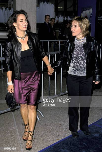 Julie Cypher and Melissa Etheridge during The Love Letter Premiere at Cineplex Odeon Century Plaza Cinema in Century City California United States
