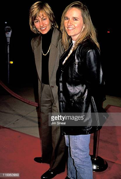 Julie Cypher and Melissa Etheridge during The War AFI Los Angeles Benefit World Premiere at Academy Theater in Beverly Hills California United States