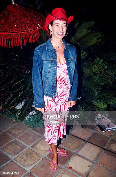 Julie Cypher during GLAAD Fund Raising Dinner with Melissa Etheridge at Private House in Studio City California United States