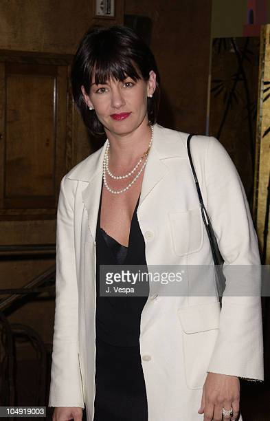 Julie Cypher during Lloyd Klein David Hayes 2002 Collection Fashion Show at Cicada Restaurant in Los Angeles California United States
