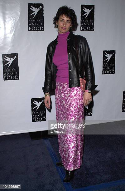 Julie Cypher during Project Angel Food's 8th Annual Divine Design Gala at Pacific Design Center in West Hollywood California United States