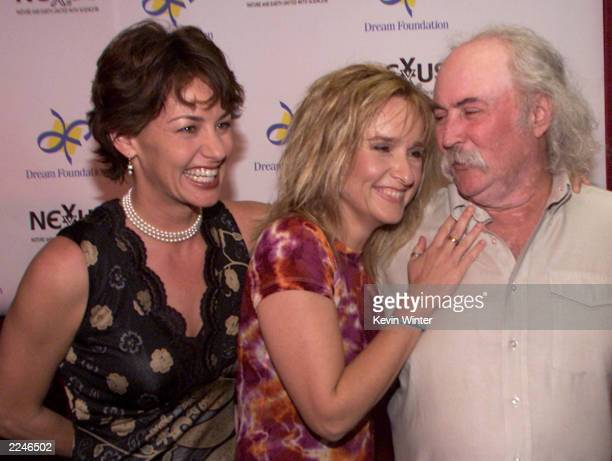 Julie Cypher Melissa Etheridge and David Crosby at 'Friends of the Dream Foundation' a tribute to Jan and David Crosby presented by Nexus Products...