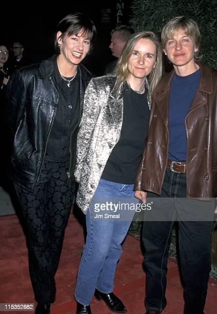 Julie Cypher Melissa Etheridge and Ellen DeGeneres