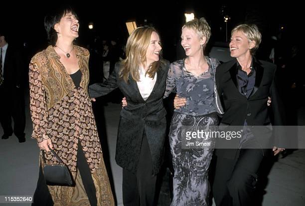 Julie Cypher Melissa Etheridge Anne Heche and Ellen DeGeneres
