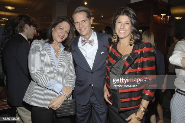 Julie Dannenberg Arthur Wayne and Cricket Burns attend Launch of Social Primer for BROOKS BROTHERS Limited Edition Bow Tie Collection at Brooks...
