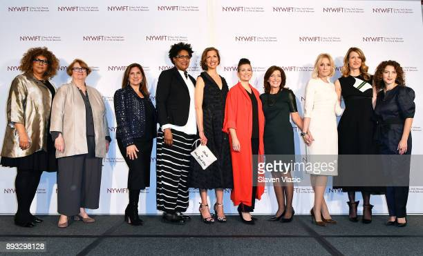 Julie Dash Terry Lawler Regina K Scully Nancy Giles Alysia Reiner Amy Emmerich Kathy Hochul Judith Light Laura Dern and Simone Pero attend 38th...