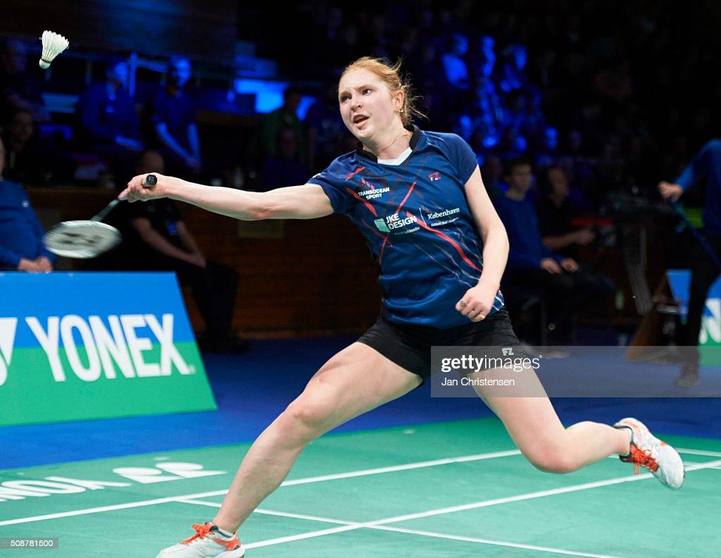 Danish Badminton Championships YONEX DM 2016 - Semifinals : News Photo