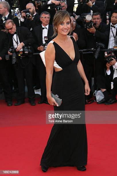 Julie De Bona attends 'Behind The Candelabra' Premiere during The 66th Annual Cannes Film Festival on May 21 2013 in Cannes France