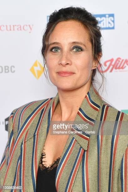 "Julie De Bona attends the 27th ""Trophees Du Film Francais"" photocall At Palais Brongniart on February 11, 2020 in Paris, France."