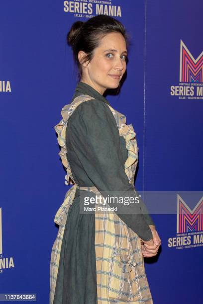 Julie de Bona attends the 2nd Series Mania Festival opening ceremony on March 22 2019 in Lille France