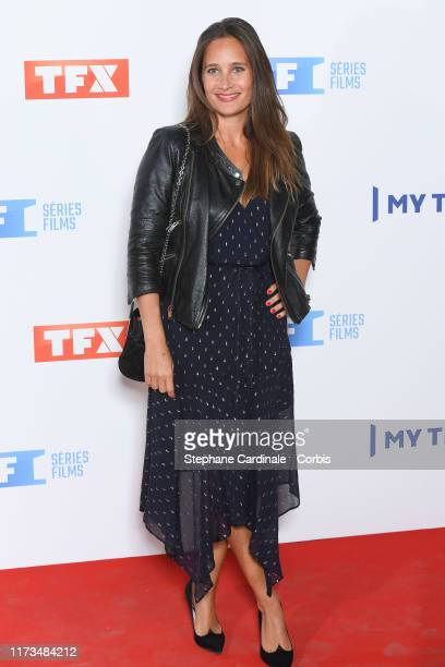 Julie de Bona attends the Groupe TF1 Photocall At Palais De Tokyo on September 09 2019 in Paris France
