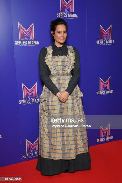 Julie de Bona attends the Opening Ceremony of the 2nd Series Mania Festival In Lille on March 22 2019 in Lille France