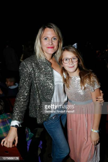 Julie de Noailles and her Daughter Anna Lou attend 'Cendrillon' choregraphing by Rudolf Noureev during 'Reve d'Enfant' Charity Gala at Opera Bastille...