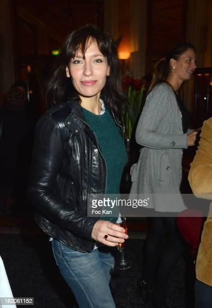 Julie Debazac attends the 18 eme Edition des Journees du Livre et Du Vin 2013' - Jury Lunch at the Hotel Lutetia on February 18, 2013 in Paris,...