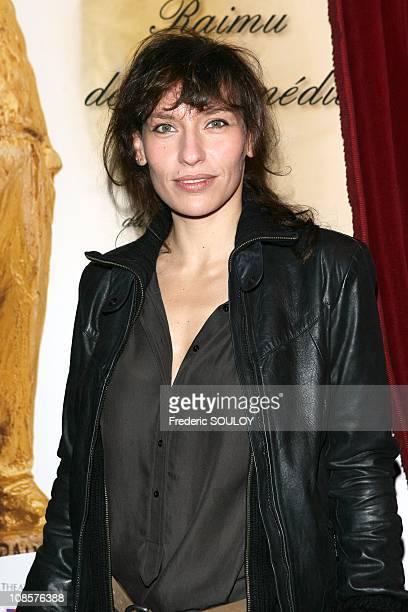 Julie Debazac in Paris, France on December 15, 2008.
