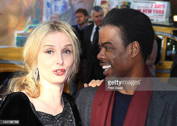 Julie Delpy and Chris Rock attend the premiere of '2 Days In New York' at Odeon kensington on May 11 2012 in London England