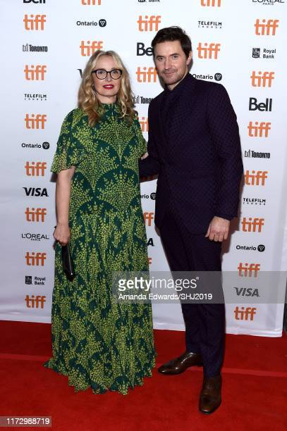 Julie Delpy and Richard Armitage attend the My Zoe premiere during the 2019 Toronto International Film Festival at Winter Garden Theatre on September...