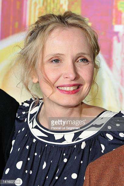 Julie Delpy attends '2 Days In New York' Paris Premiere at Mk2 Bibliotheque on March 19 2012 in Paris France