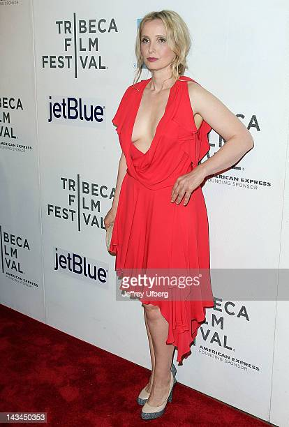 Julie Delpy attends the 2 Days in New York premiere during the 2012 Tribeca Film Festival at BMCC Tribeca PAC on April 26 2012 in New York City