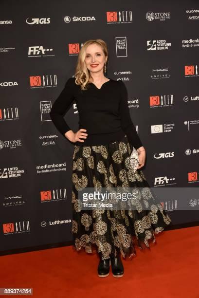 Julie Delpy attends the European Film Awards 2017 on December 9 2017 in Berlin Germany
