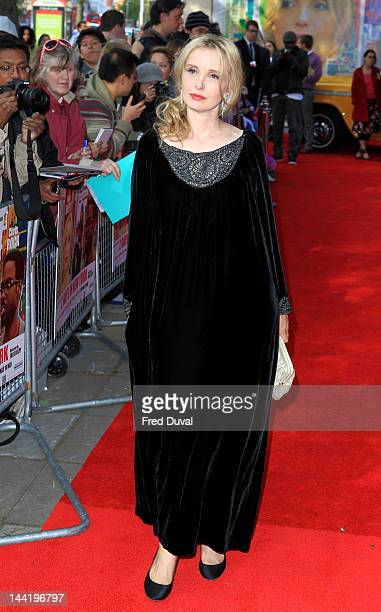 Julie Delpy attends the premiere of '2 Days In New York' at Odeon kensington on May 11 2012 in London England