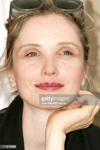 Julie Delpy during 2004 Cannes Film Festival Adami Photocall at Palais Du Festival in Cannes France