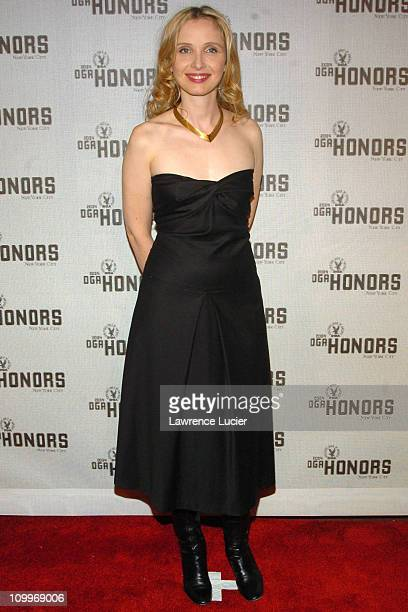 Julie Delpy during DGA Announces Presenters and Guests for 5th Annual DGA Honors at Waldorf Astoria in New York City New York United States