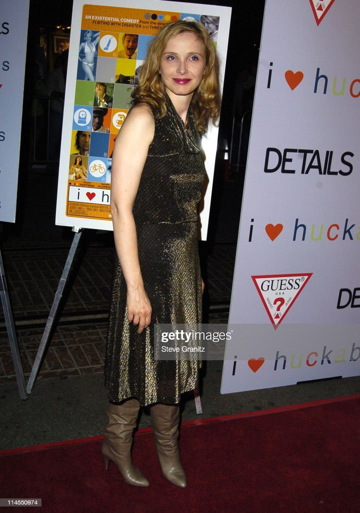 Julie Delpy during 'I Heart Huckabees' Los Angeles Premiere - Arrivals at The Grove in Hollywood, California, United States.